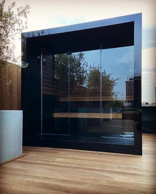 Outdoor wellness - sauna