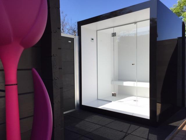Outdoor wellness - steam room