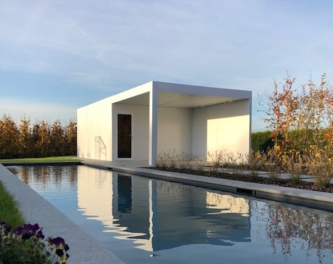 Outdoor wellness - Poolhouse